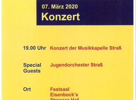 Konzert der Musikkapelle Straß
