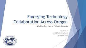 Emerging Technology - Interagency Collaboration Across Oregon