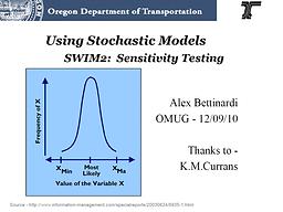 SWIM2 Sensitivity Testing