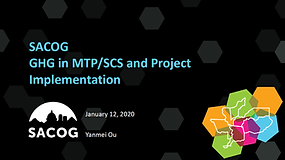 SACOG GHG in MTP/SCS and Project Implementation