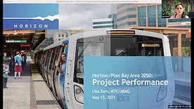 Horizon/Plan Bay Area 2050: Project Performance