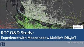 RTC Origin-Destination Study using Moonshadow Mobile
