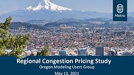 Portland Region Congestion Pricing Study