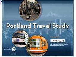 Portland Travel Study