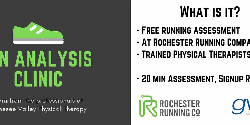 Run Analysis Clinic with Genesee Valley Physical Therapy