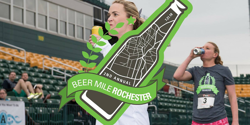 Beer Mile Rochester - 2nd Annual