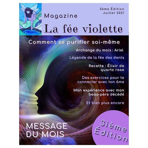 Magazine ésotérique La fée violette - Édition 3