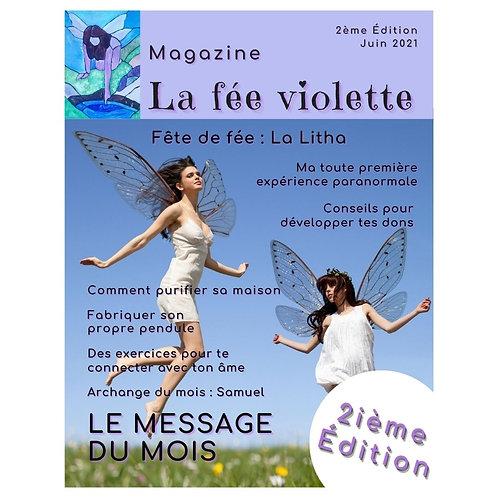 Magazine ésotérique La fée violette - Édition 2