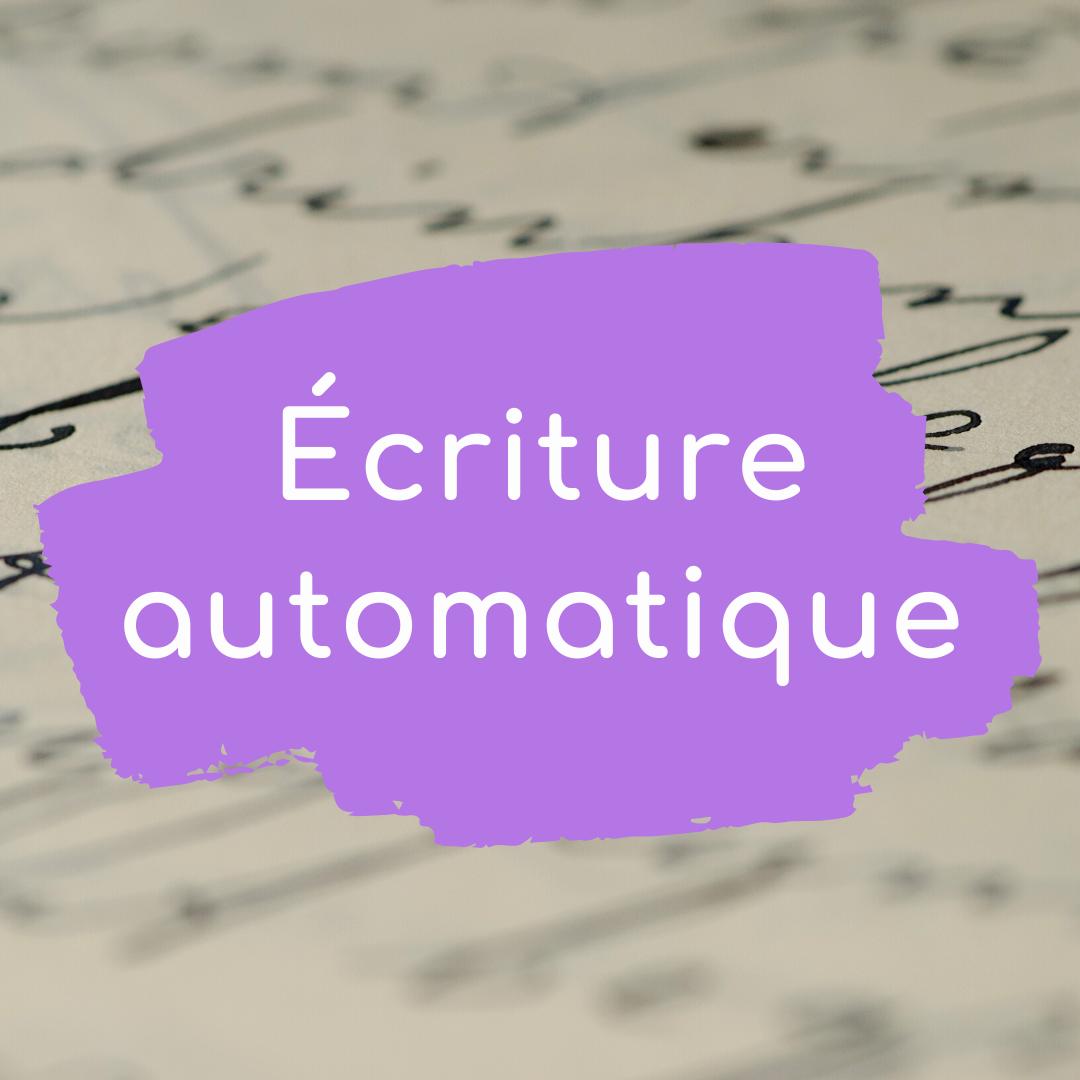 Écriture automatique