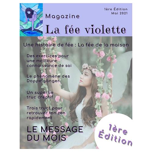 Magazine ésotérique La fée violette - Édition 1