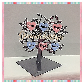 Freestanding Grandchildren tree