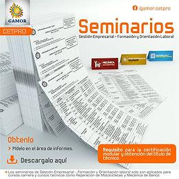 Seminarios - Gamor