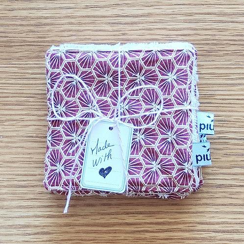 Lingettes  coton/bambou