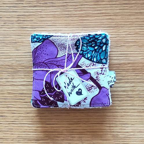 Lingettes  coton/wax