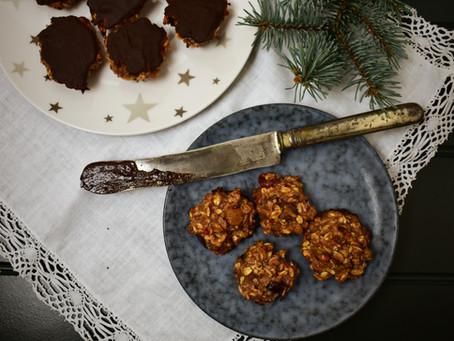 Ovesné marokánky s hořkou čokoládou