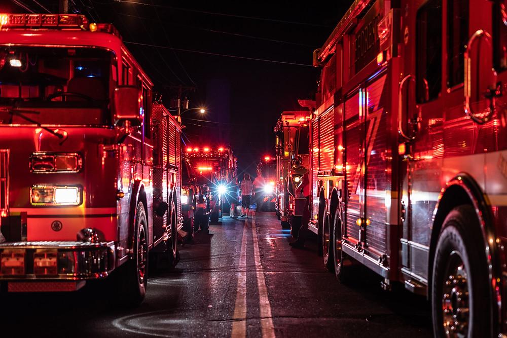 Feuerwehr-Sirenen helfen bei Achtsamkeitstraining