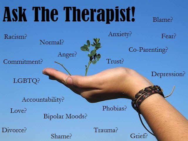 Your Chance to Ask The Therapist!