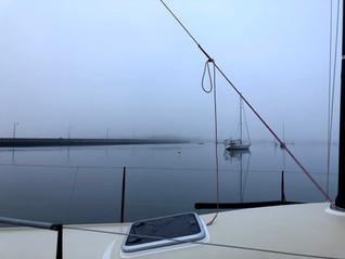 Foggy Day in Padanaram Harbor