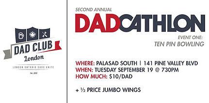 Dadcathlon Bowling Promo