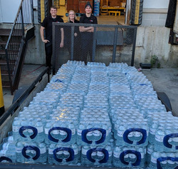 Salvation Army Bottled Water Drive