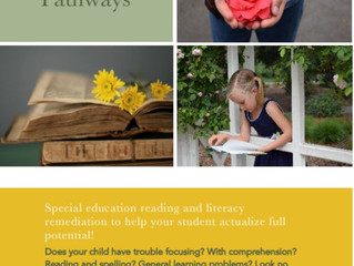 Special Education Reading & Literacy - LA (website is a writer's blog now, no educational offerings)