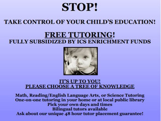 Tree of Knowledge Tutoring Services - (flyer is outdated, contact for updated information)