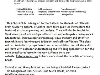 Kids Chess Club - San Diego