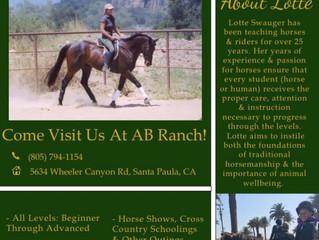 Horse Riding School - Santa Paula, CA