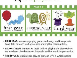 3 Year Music Program - Riverside, CA