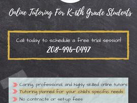 Hoffman Tutoring Group: Personalized Online Tutoring K-8th Grade - Virtual