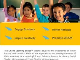 Ohana Learning Series Family Genealogy Curriculum - Virtual