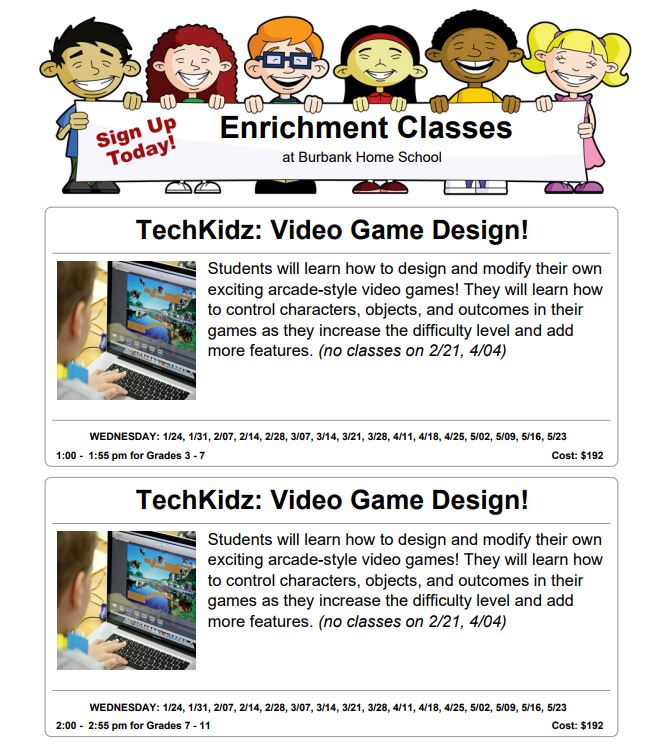 Enrichment Classes - Van Nuys, CA | inspirationstation