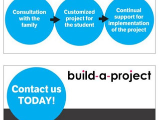 Build-a-Project Customized Curriculum & Projects - Virtual
