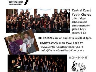 Central Coast Youth Chorus - San Luis Obispo, CA