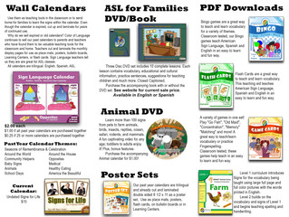 ASL Curricula - Online (website has expired, and there's no current contact info to reach them at)