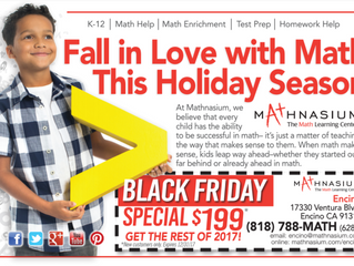 Mathnasium - Encino (contact for updated flyer - this one is from fall 2017)