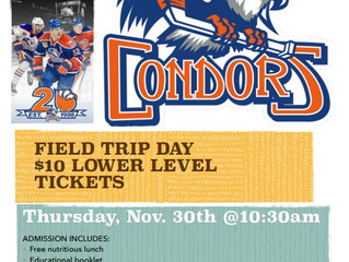 * Wait-list * Condor Hockey Game - Bakersfield