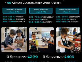 Robotics Classes - Lake Forest, CA