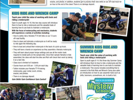 Motorcycle Classes and Camps at Rich Oliver's Mystery School- Auberry, CA