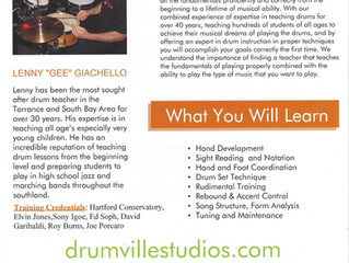 Drum Lessons - Torrance/Long Beach, CA