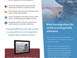 Around the World Stories - 30 minute audio stories from around the world! - Online