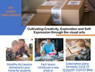 MoxieBox Art Subscription Boxes - Online