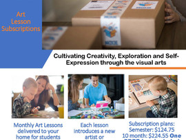 MoxieBox Art Lessons Delivered to Your Door! - Subscription