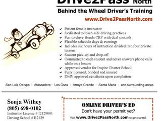 Driver's Training - San Luis Obispo, CA