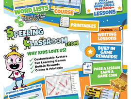 Spelling Classroom: Spelling & Vocabulary - Virtual