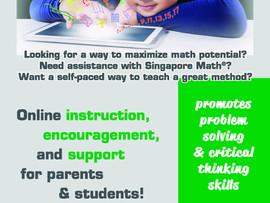 Singapore Math Live - Virtual