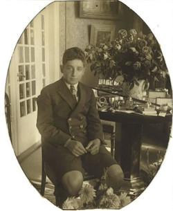 Salomon Steinbock - Bar Mitzva Viipurissa, v. 1924. (s. 26.8.1911)
