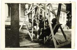 Mendel, Rachel ja Daniel Wardi (Waprinsky) 1929 Terijoki