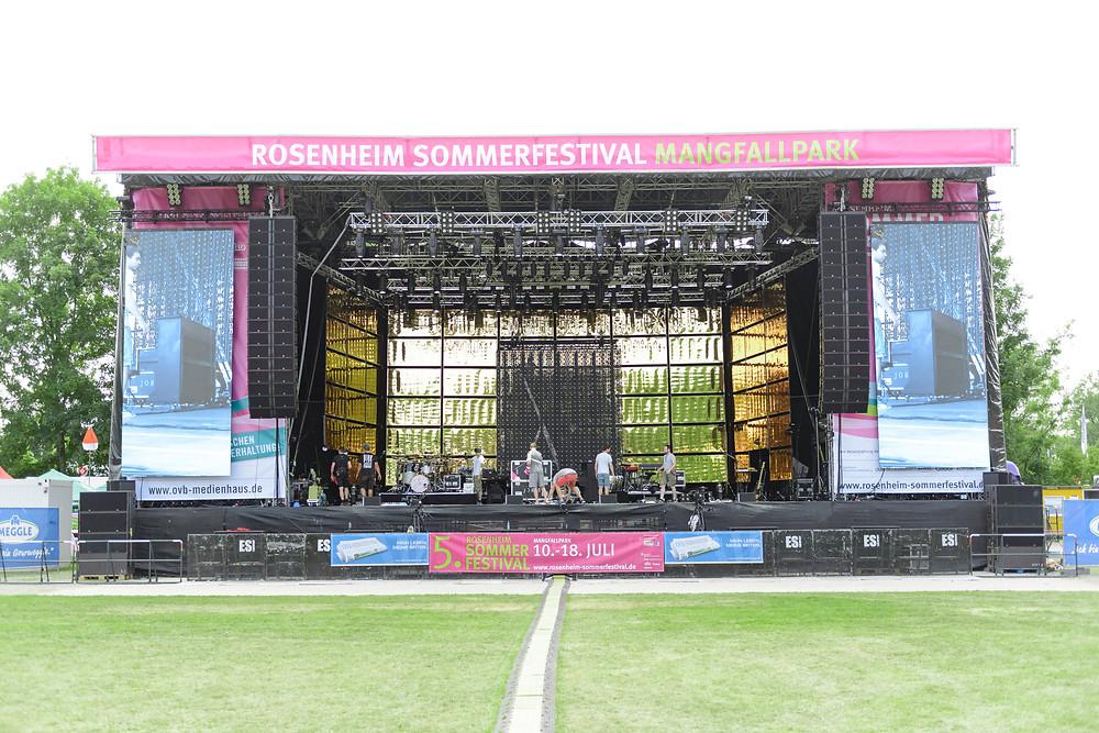 Rosenheim Sommerfestival Mangfallpark Landesgartenschau Gelände