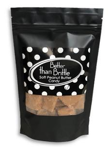 Gourmet Soft Peanut Brittle 4 oz. Bag